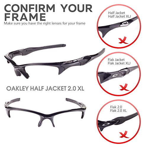 Half Jacket 2 0 >> Walleva Replacement Lenses 4 Oakley Half Jacket 2 0 Xl Sunglasses Multiple Options Black