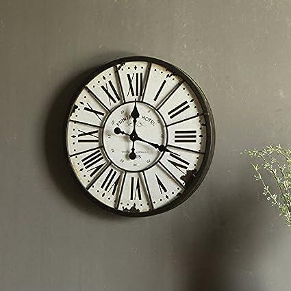 Y-Hui Puede Home relojes decorativos Salón del Reloj de pared Reloj de pared grande