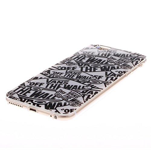 "MOONCASE iPhone 6 Case Mode Muster TPU Silikon Tasche Schutzhülle Etui Hülle Schale Case Cover für iPhone 6 (4.7"") -TX17"