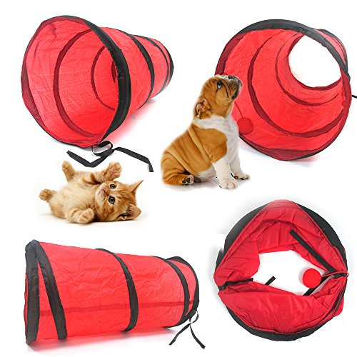 Tunnel Supplies Collapsible Crinkle Kitten