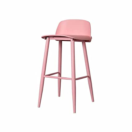 Amazon.com: Mybd-bar stool Bar Stool Kitchen Metal Modern ...