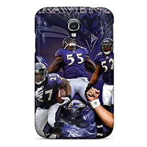 Marycase88 Samsung Galaxy S4 Best Cell-phone Hard Cover Unique Design HD Baltimore Ravens Pattern [oPu2947bBre]