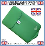 Prolineonline Neoprene Kindle Sleeve Cover & Screen Protector, Apple Green