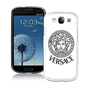 Unique And Durable Designed Case With VERSACE 000 White For Samsung Galaxy S3 I9300 Phone Case