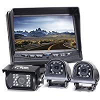 Rear View Safety RVS-770616Q Video Camera with 7-Inch LCD (Black)
