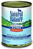 Natural Balance Original Ultra Whole Body Health Reduced Calorie Wet Dog Food Cans - 13-Ounce (Pack of 12)