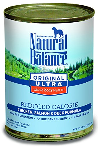Natural Balance Original Ultra Whole Body Health Reduced Calorie Wet Dog Food (Red Meat Case)