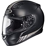 HJC Streamline Men's CL-17 Sports Bike Motorcycle Helmet - MC-5GF / Large