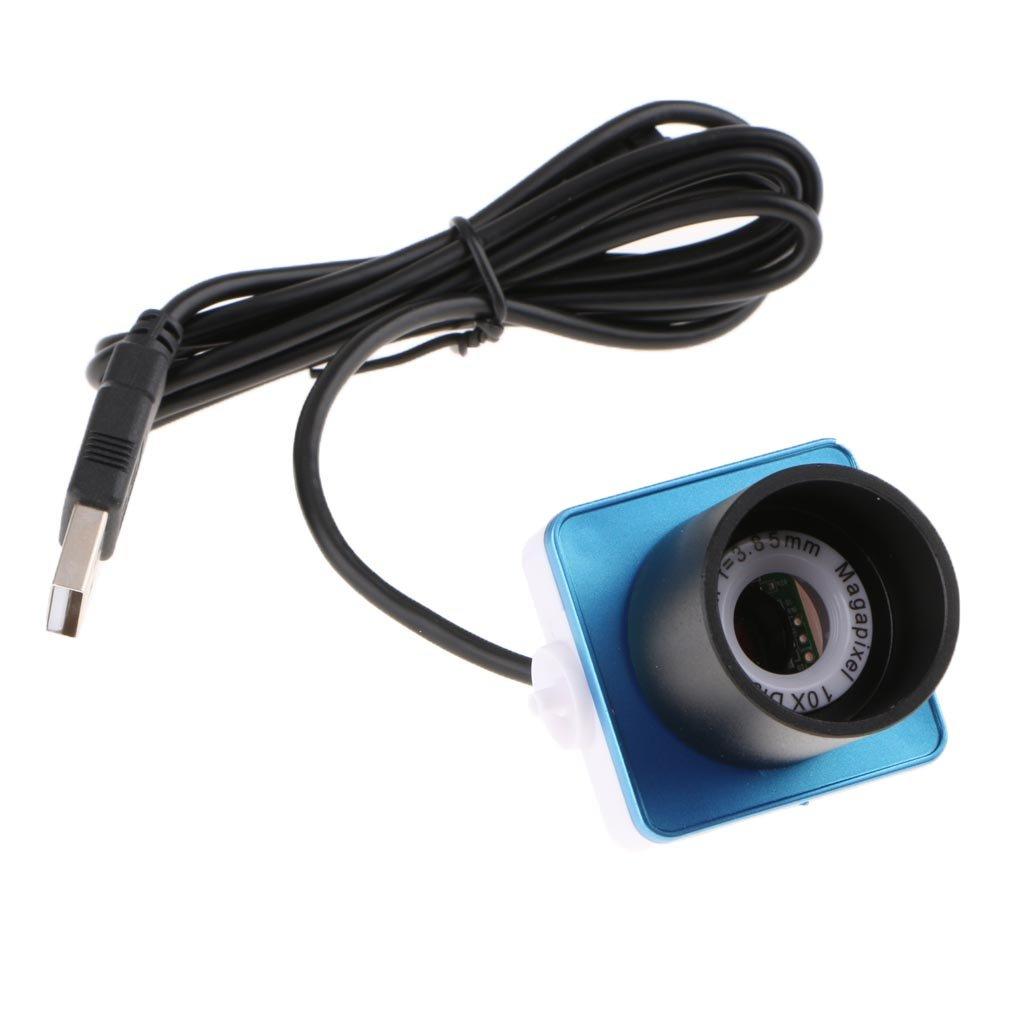 MagiDeal Telescope Digital Eyepiece Lens 0 8MP f/3 85mm Focal Length  Composite Video Port USB 2 0