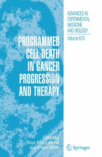 Programmed Cell Death in Cancer Progression and Therapy (Advances in Experimental Medicine and Biology) PDF