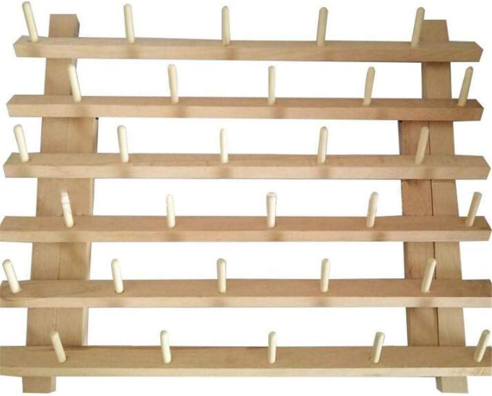 /Étag/ère de Rangement Support de fil en bois porte-fil pliable 30 Bobine Fil Rangement en bois Bobine de fil for support de Rangement Organisateur de Rangement for c/ône /à coudre