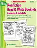 Animals and Habitats, Alyse Sweeney, 0439567602