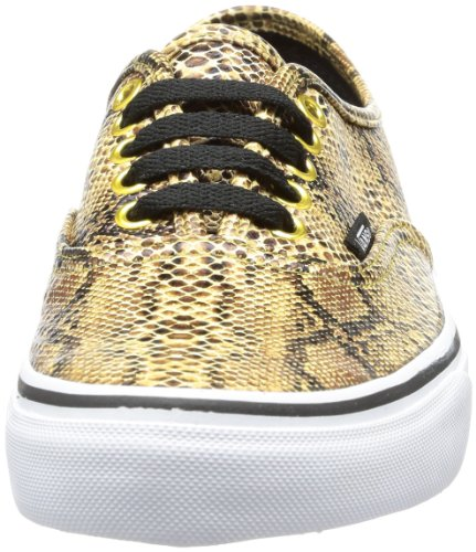 Snake adulte Baskets Authentic mode Gold mixte Or U Vans ExO0qWnRw
