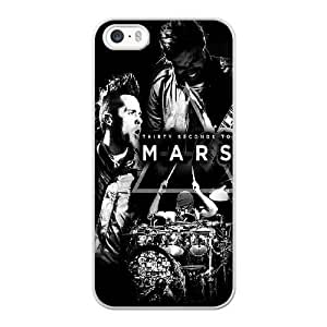 iPhone 5 5s SE Case White 30 seconds to mars_006