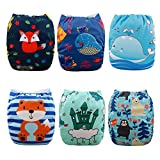 Babygoal Baby Reusable Washable Pocket Cloth