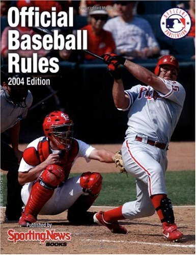 Download Official Major League Baseball Rules Book, 2004 Edition pdf epub