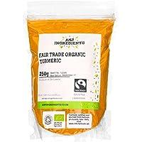 JustIngredients Essential Fairtrade Organic CúrcumaEcológica - 250 gr