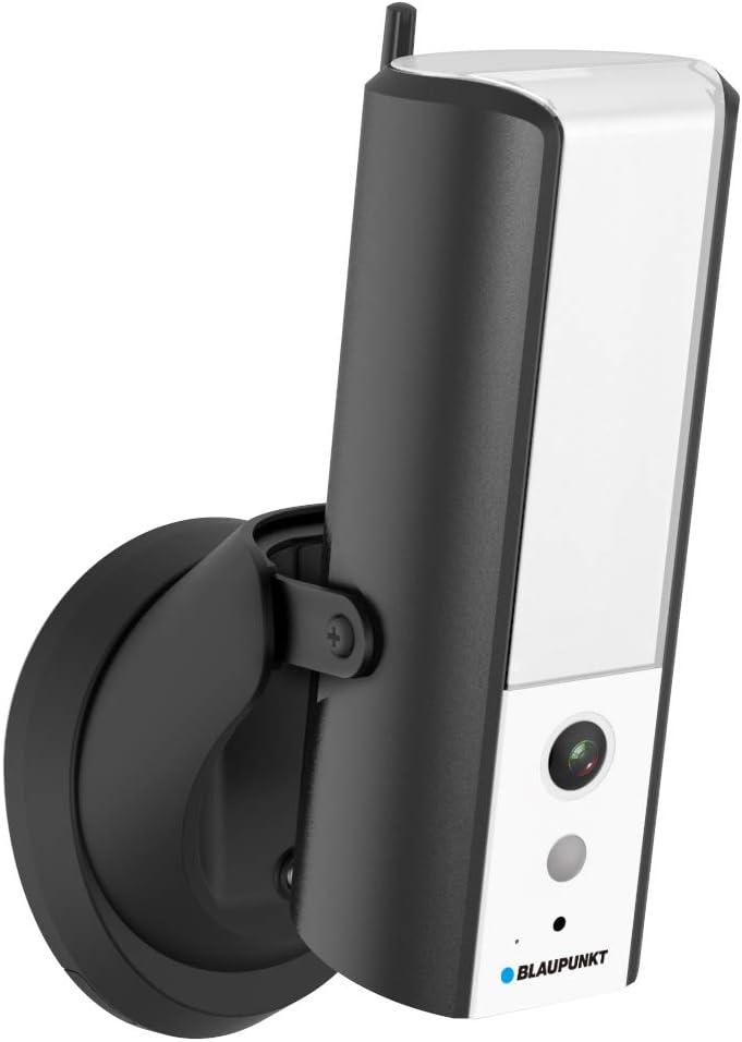 Blaupunkt Lampcam Hos X20 Full Hd Videoüberwachung Und Dimmbare Warmweiße Led Außenleuchte 950 Lumen Mit Bewegungssensor Hören Und Sprechen Via Gratis App Push Nachrichten Schutzklasse Ip55 Baumarkt