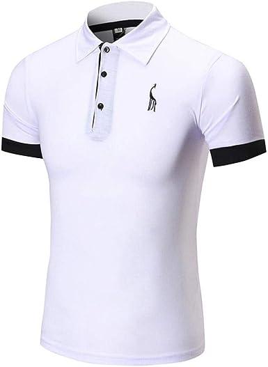 Verano Polo De La Los Ocasional De Camisa Modernas Casual Hombres De Manga Corta Camiseta De