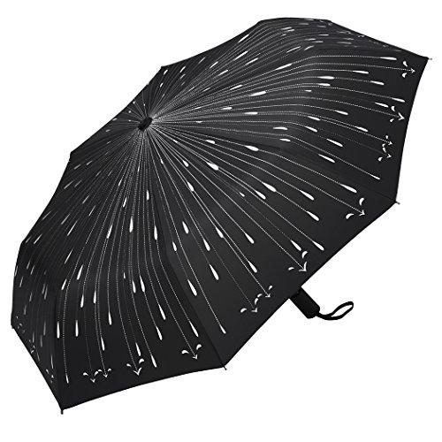 Plemo Windproof Automatic Umbrellas Raindrops product image