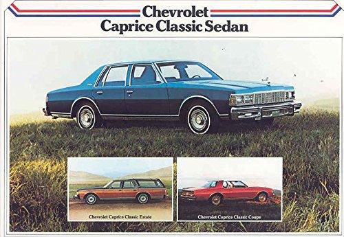 1979 Chevrolet Caprice Sales Brochure Export Danish Danish Export