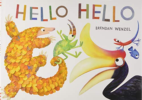 Hello Hello (Books for Preschool and Kindergarten, Poetry Books for Kids) (Top 5 Most Endangered Animals In The World)