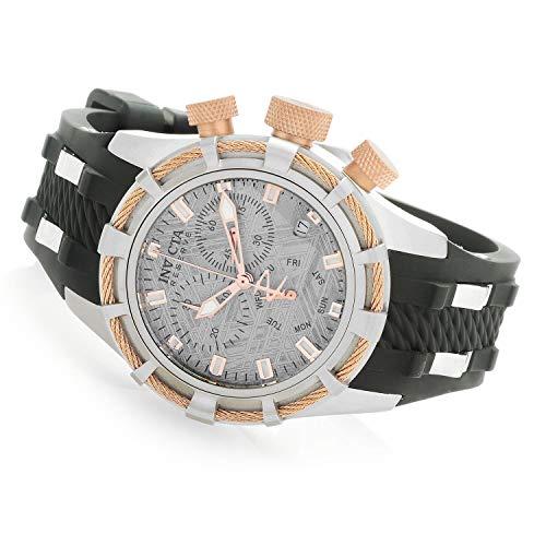 Invicta 27242 Women's Reserve 40mm Bolt Swiss ISA 8172/220 Chronograph Muonionalusta Meteorite Dial Strap Watch (Invicta Watches Reserve Women)
