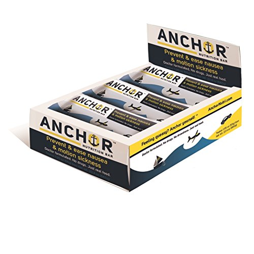 Anchor Nutrition Bar, Anti-Nausea Snack, 1.97 Oz (Pack of 12)