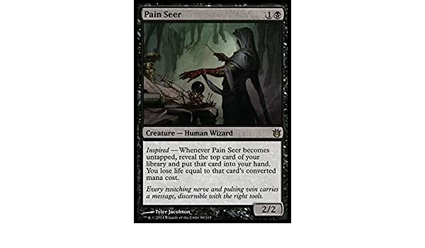 Born of the Gods Game Day foil Pain Seer