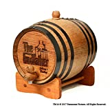 Movies On Glass - Personalized Godfather Movie Bootlegger Whiskey Barrel - 2 Liter