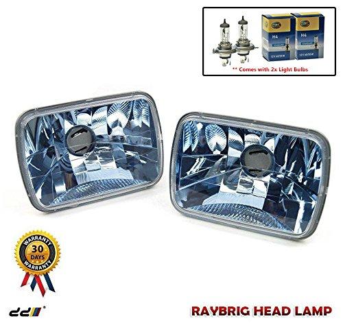 RAYBRIG Blue Diamond Headlight Toyota MR2 Corolla Levin Trueno AE86 Supra (2)
