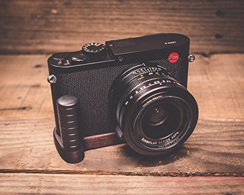 Leica Hand Grip - J.B. Camera Designs Pro Wood Grip for Leica Q Typ 116 - Handmade in the USA