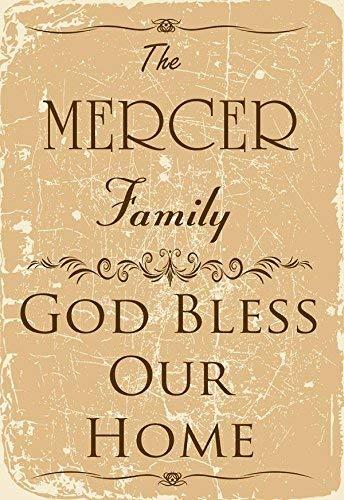 Tarfy The Mercer Family Retro Vintage Cartel de Chapa ...