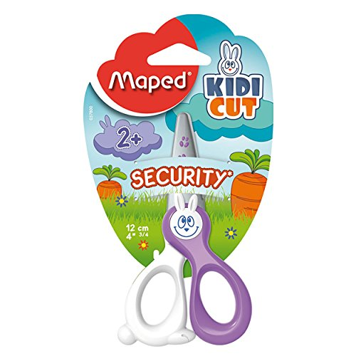 Maped Kidicut Safety Scissors 4.75 Inch, Assorted Colors - In Us Best Brands