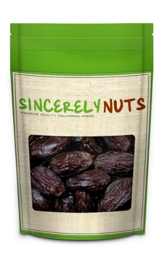 Sincerely Nuts Jumbo Medjool Dates (1 Pound Bag)