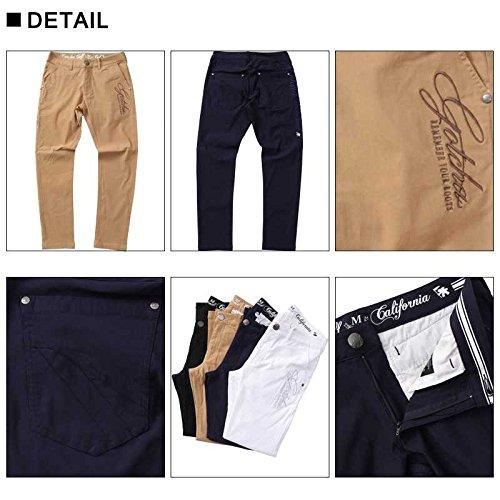 [ガッチャ ゴルフ] GOTCHA GOLF パンツ メンズ ベーシック スーパー ストレッチ ロングパンツ 99GG1800 ブラック XXLサイズ