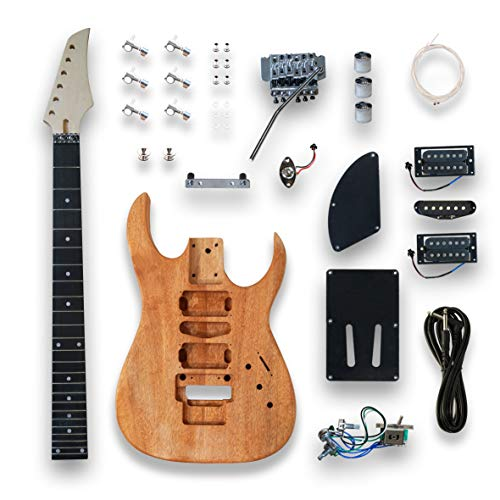 DIY The JS Series Dinky style Electric Guitar Kit For GRS Guitar