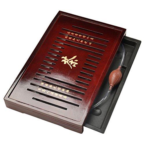 Solid Wood Tea Tray Tea Set Chinese Kung Fu Tea Set-#09 by FANCY PUMPKIN