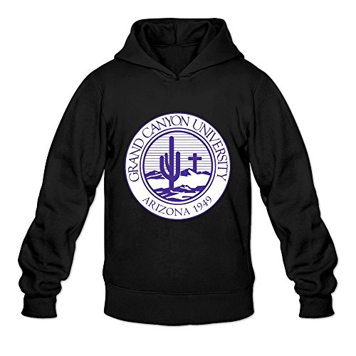 Grand Canyon University VAVD Man's 100% Cotton Hoodies Black Size M