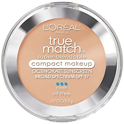 L'Oreal Paris True Match Super-Blendable Compact Makeup, 0.30 Ounce