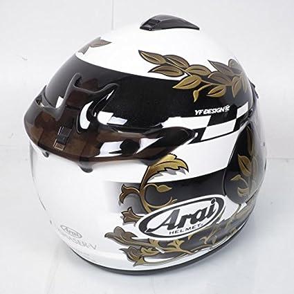 Casco integral moto Arai Chaser-V talla l-60 cm, colores blanco,