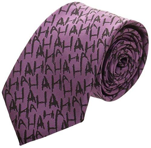 The Joker Micro Print Neck Tie Standard -