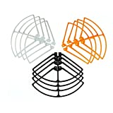 Yiwa 12pcs RC Drone Guard Circle Prop Protective Frame Guard Spare Parts For Syma X8 X8C X8W X8G X8HC X8HW X8HG RC Aircraft Helicopters Parts Toy Hobbies Accessories 3 Colors