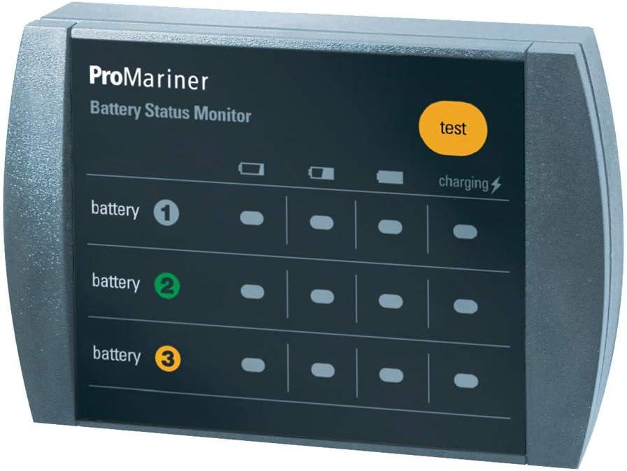 ProMariner 51060 Remote Bank Status Monitor, Black, Small