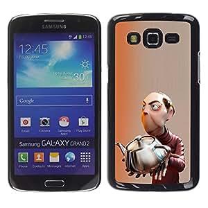 iKiki Tech / Estuche rígido - Mastermind Scientist Kids Children'S - Samsung Galaxy Grand 2 SM-G7102 SM-G7105