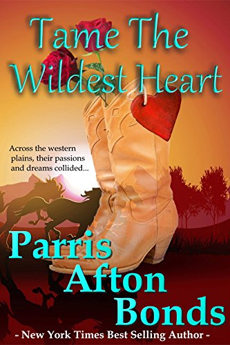 In the unforgiving Arizona Territory, Mattie McAllister desired only to be left alone so she could raise her half-breed son in peace. Then he showed up. Her greatest hope and her greatest fear.  Tame the Wildest Heart by Parris Afton Bonds