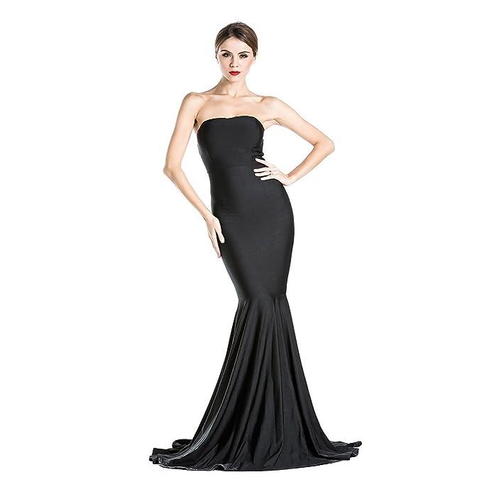 Amazon.com: Miss ord - Vestido de fiesta sin mangas para ...