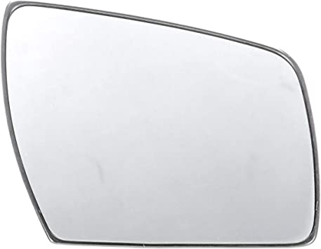 Fits 13-16 Dodge Dart Right Passenger Mirror Glass w//Rear Holder non Folding