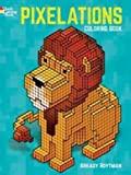 Pixelations Coloring Book (Dover Coloring Books for Children)