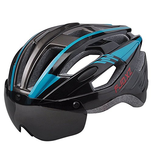 FJQXZ Bike Bicycle Cycling Adult Helmet Adjustable Size Lightweight Safety for Hiking Sports Climbing Outdoor